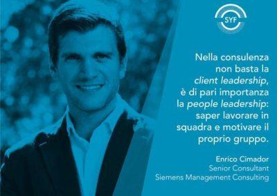 Enrico Cimador SYF